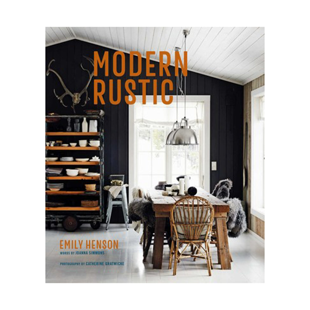 simon schuster modern rustic book hardcover