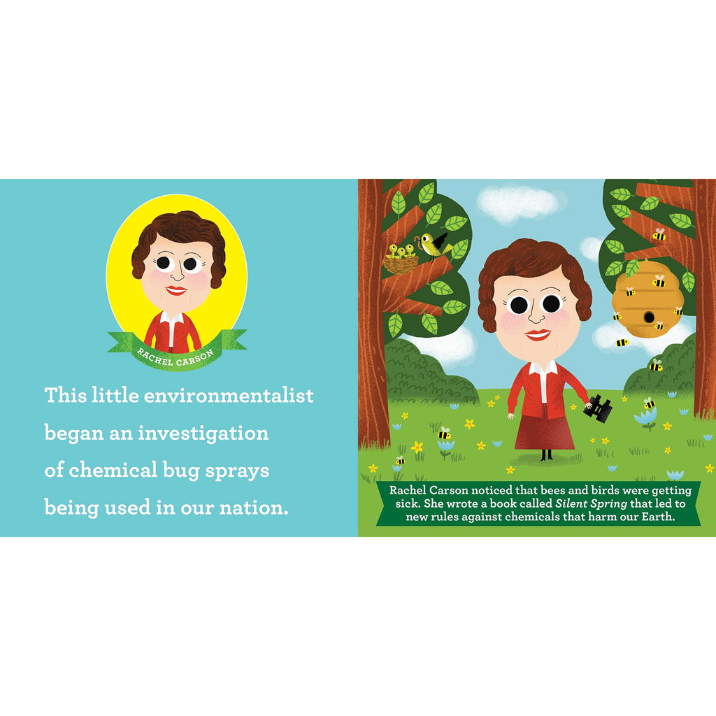 simon & schuster this little environmentalist a love the earth toddler board book primer rachel carson sample page
