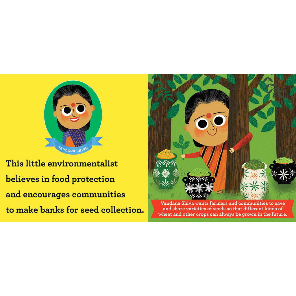 simon & schuster this little environmentalist a love the earth toddler board book primer vandana shiva sample page