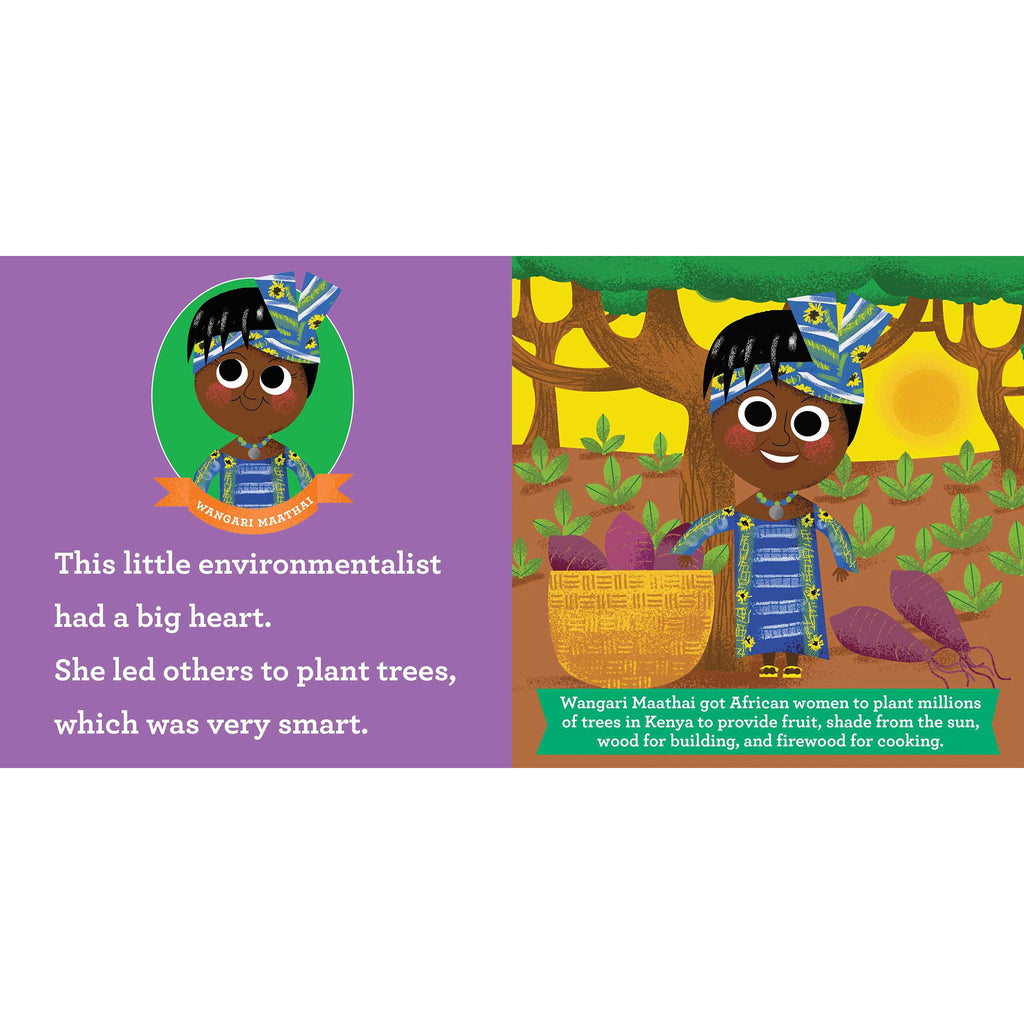 simon & schuster this little environmentalist a love the earth toddler board book primer wangari maathai sample page