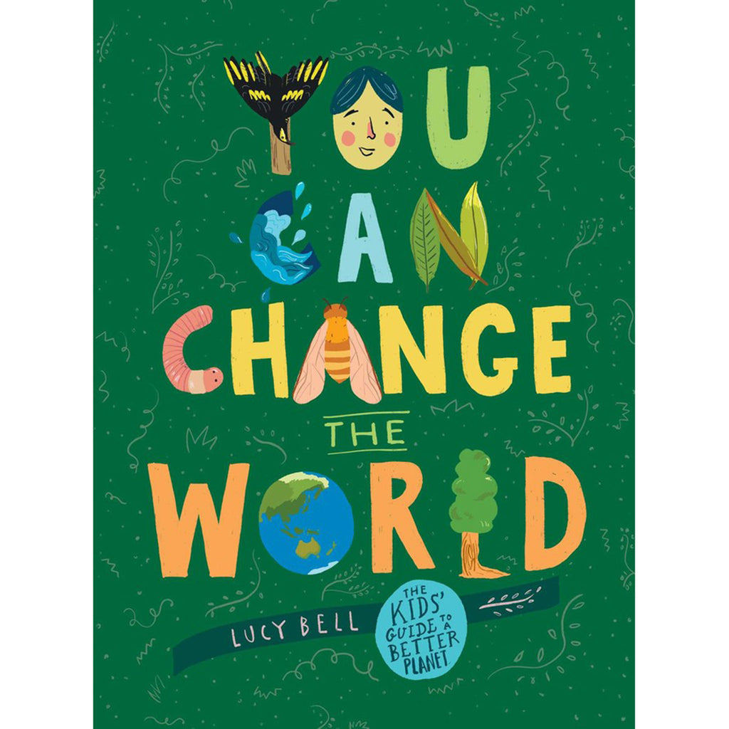 simon & schuster you can change the world kids guide to a better planet book cover