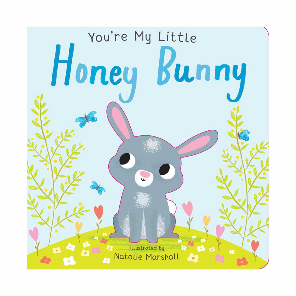 simon and schuster you're my little honey bunny interactive baby board book for easter cover