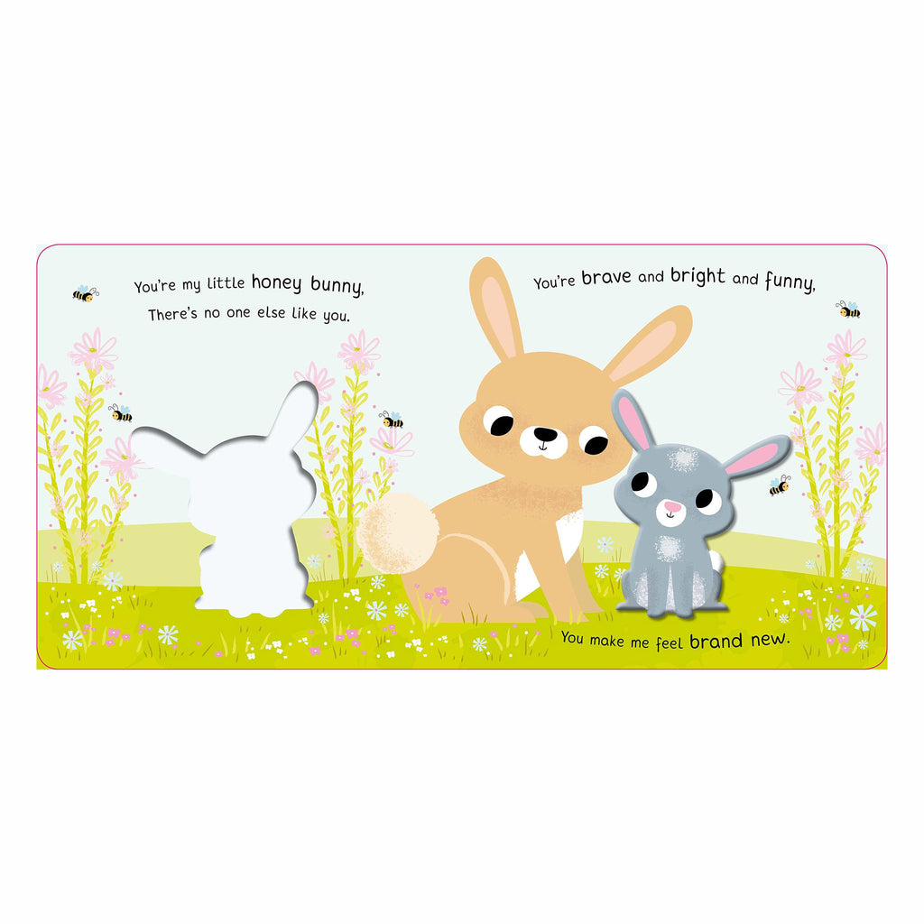 simon and schuster you're my little honey bunny interactive baby board book for easter sample page 1