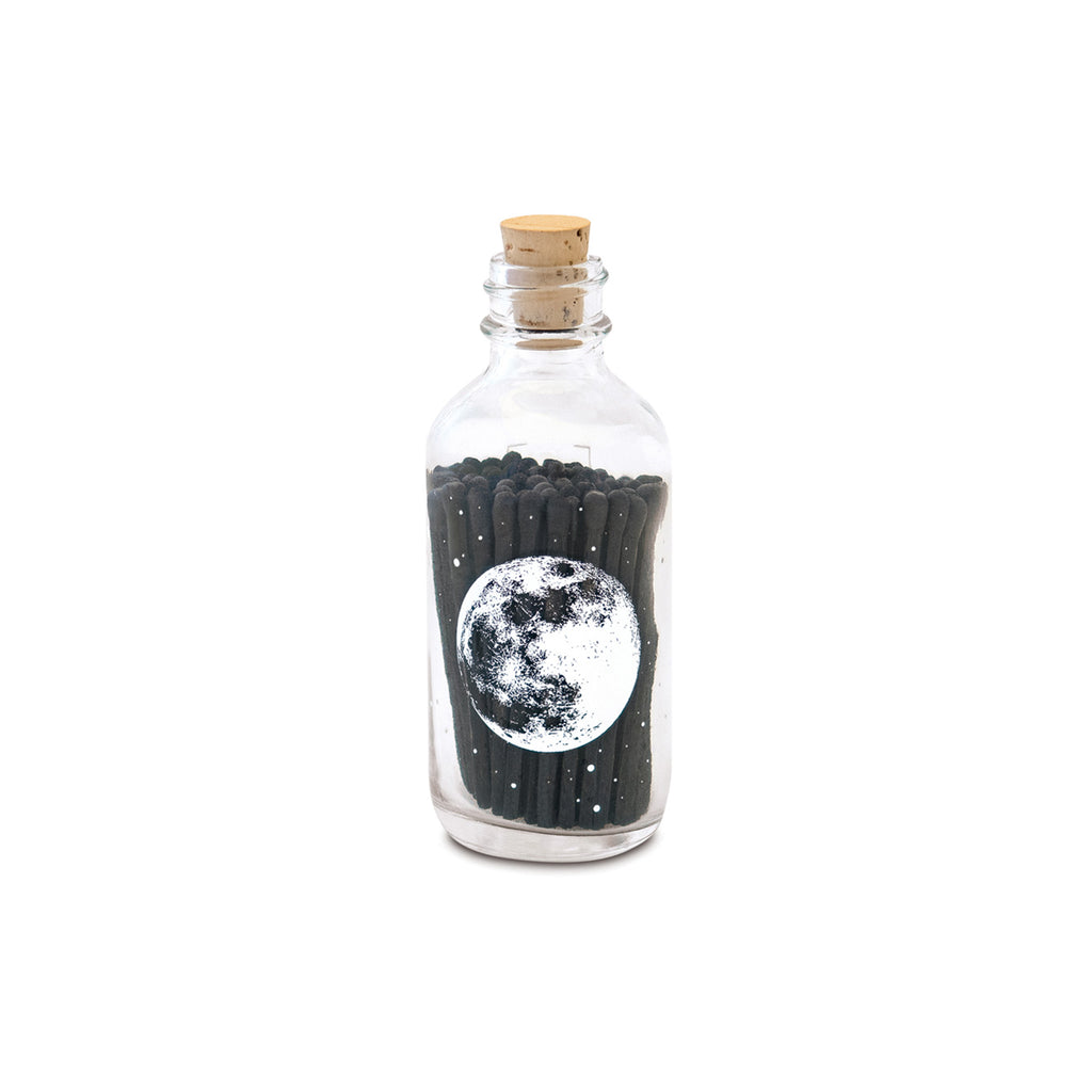 Small Astronomy Apothecary Match Bottle