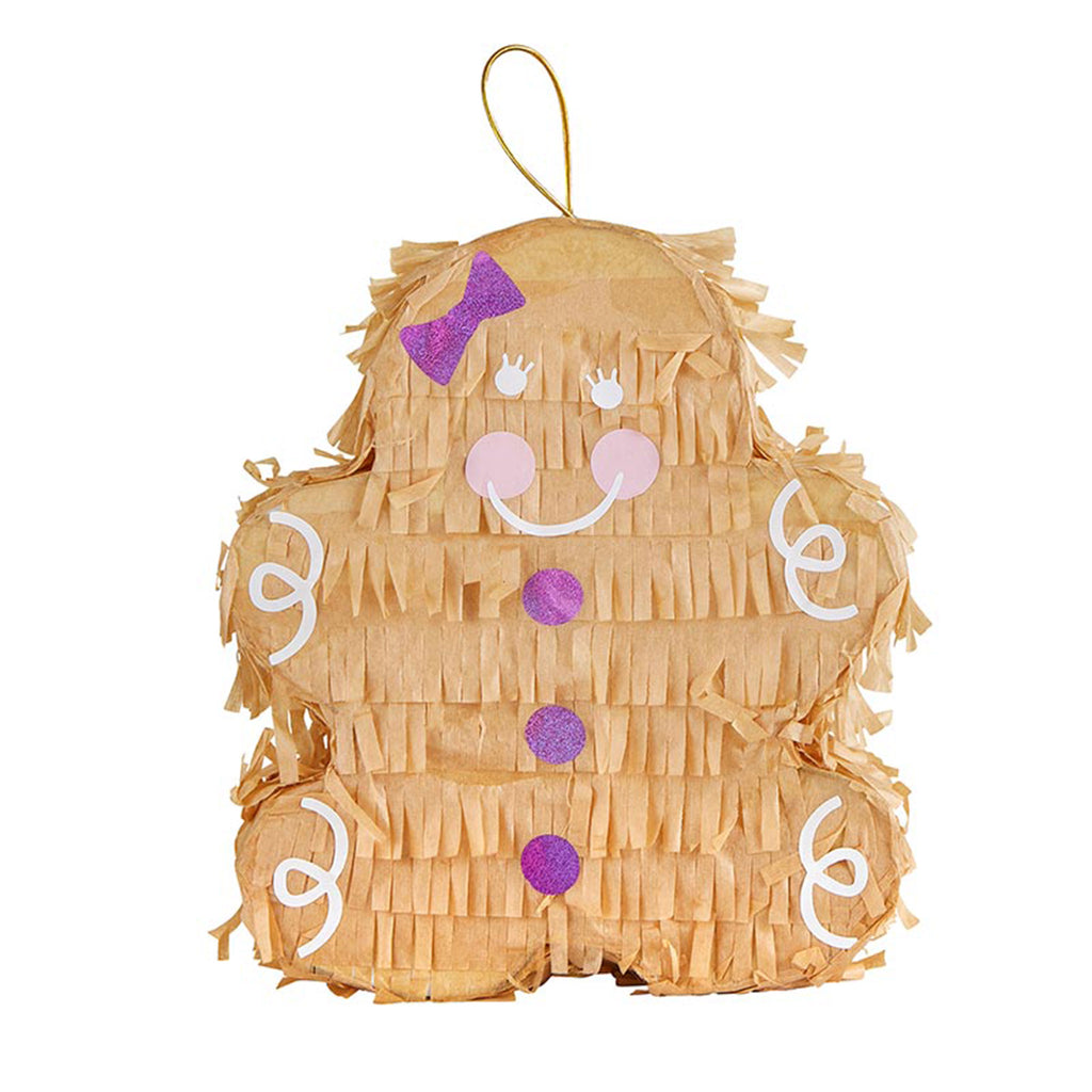 slant collections gingerbread pinata holiday christmas party supplies