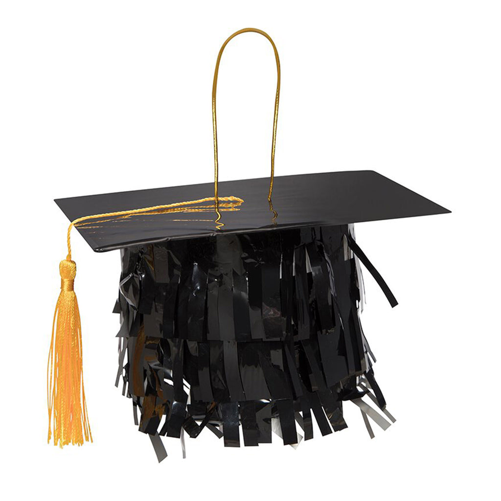slant collections petite grad hat pinata mortarboard graduation party supplies