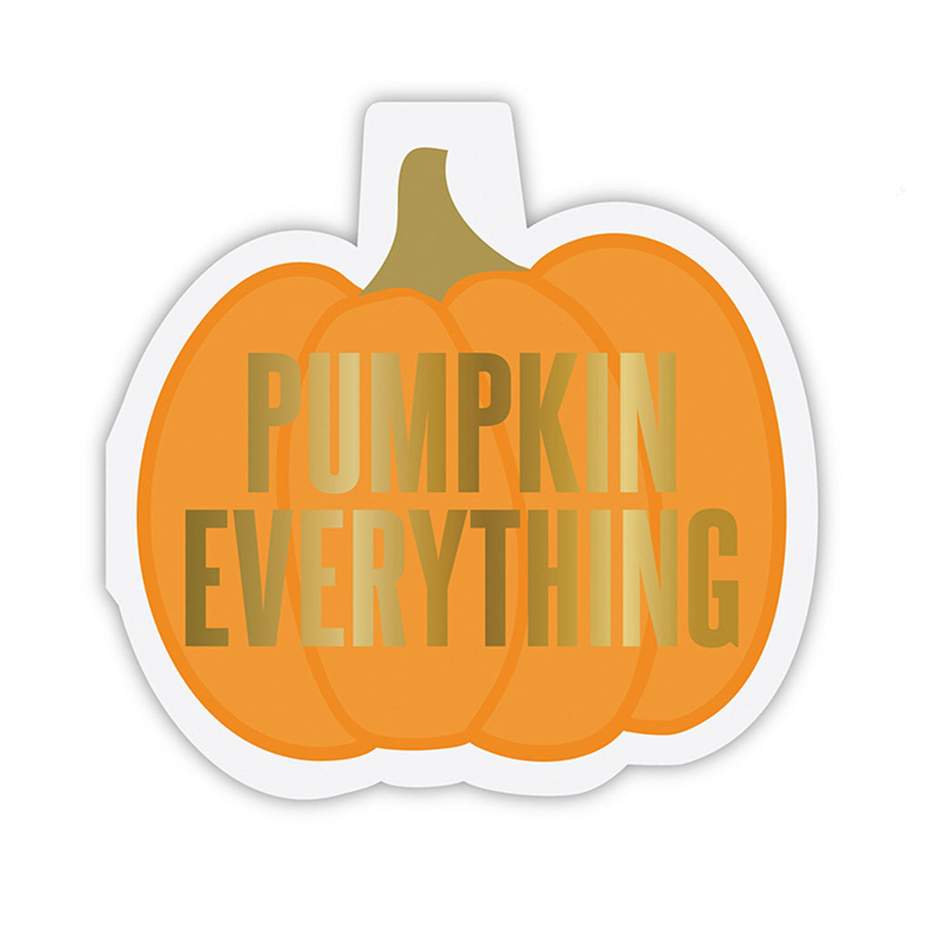 pumpkin everything shaped beverage napkins