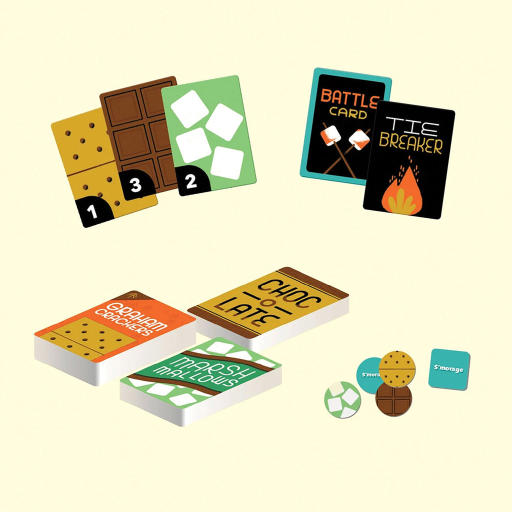 chronicle s'mores wars campfire card game of snack attacks card samples