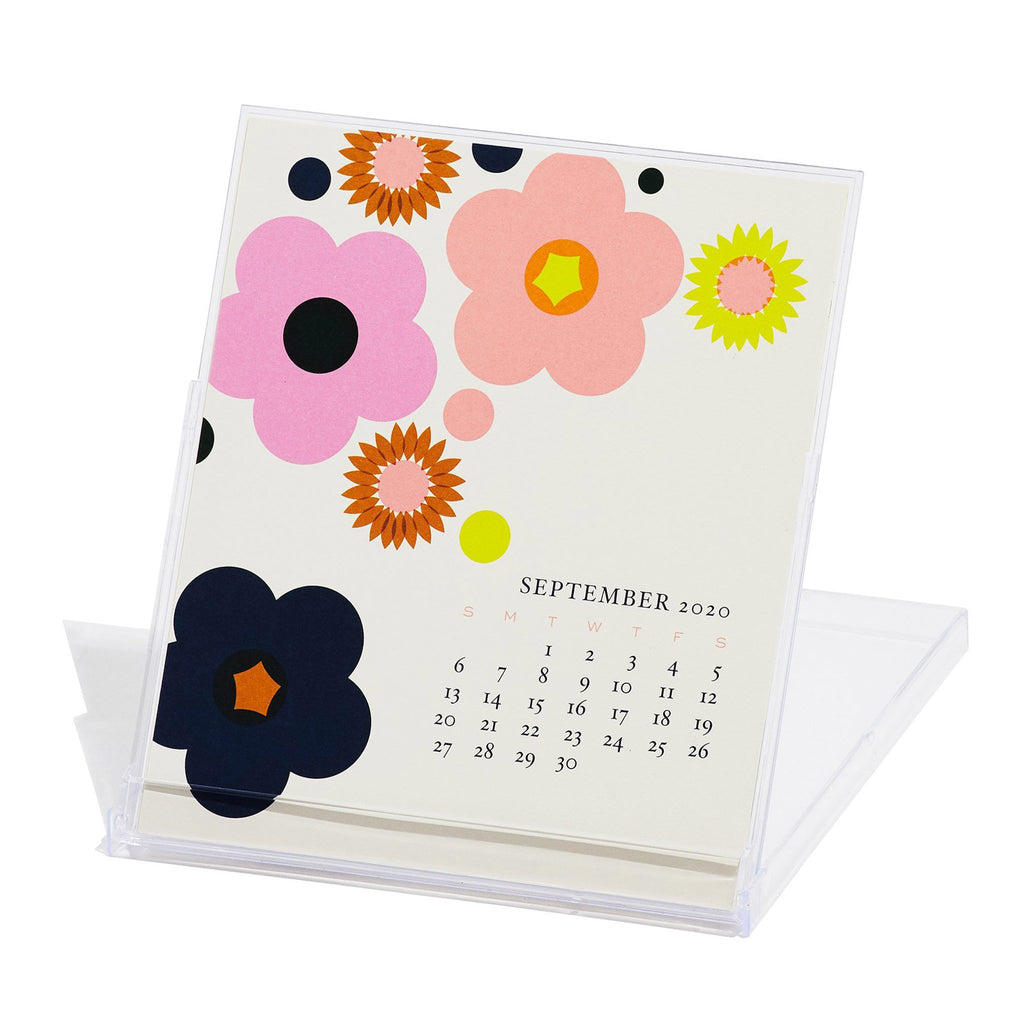 snow and graham 2020 monthly desk calendar september in stand