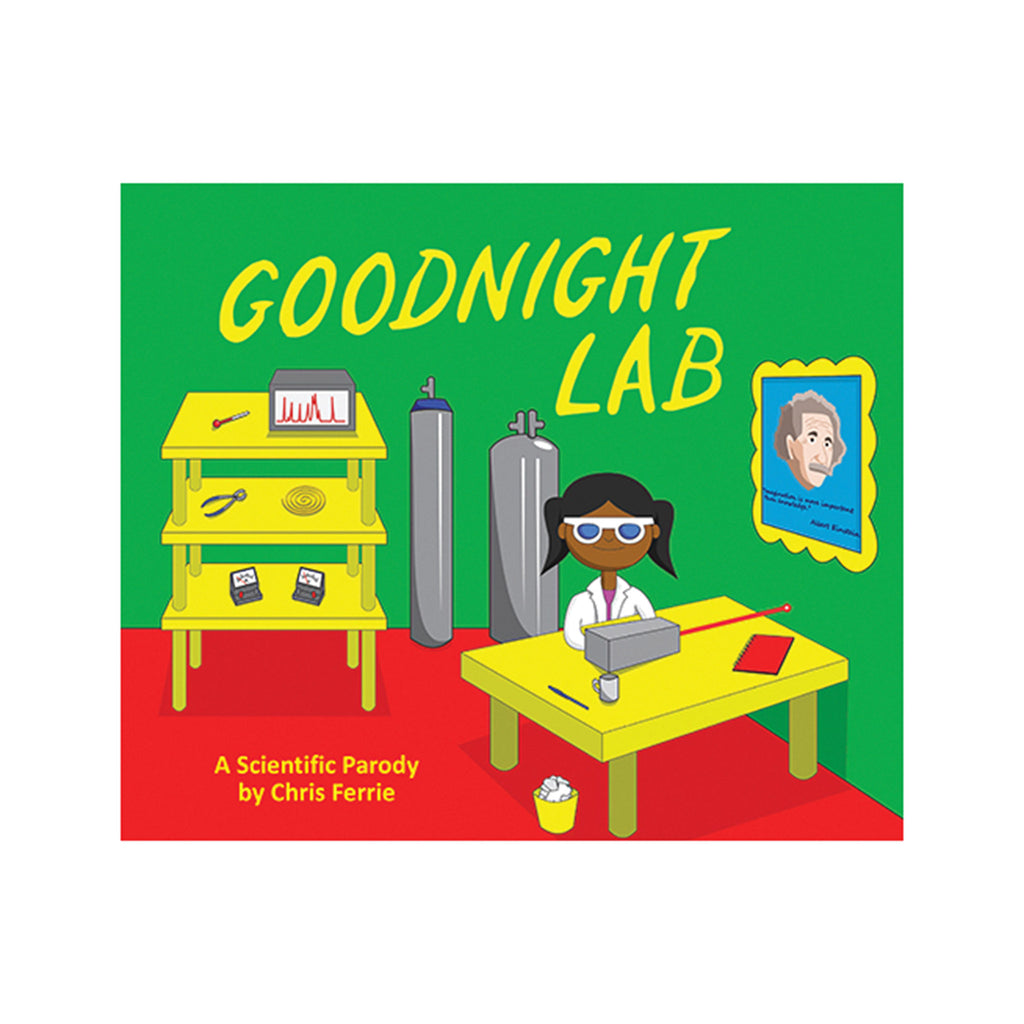 sourcebooks goodnight lab a scientific parody kids picture book cover