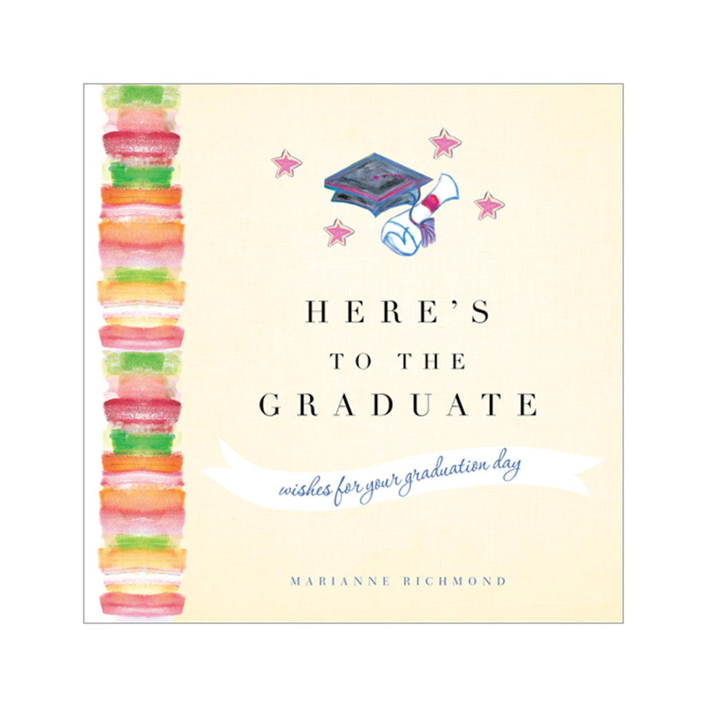 sourcebooks here's to the graduate wishes for your graduation day gift book cover