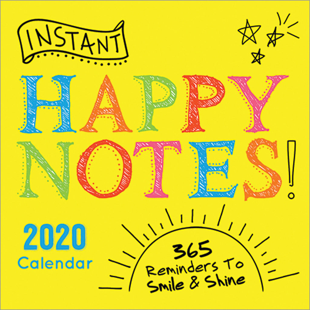 sourcebooks instant happy notes daily desk calendar box cover