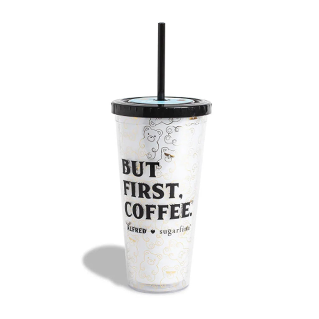 sugarfina but first coffee reusable tumbler