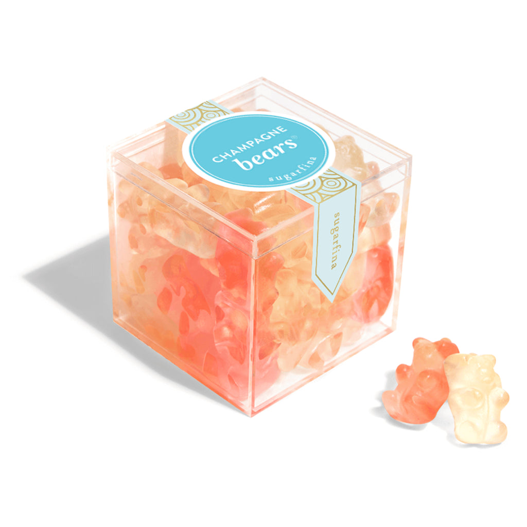 sugarfina champagne bears gummy candy small box