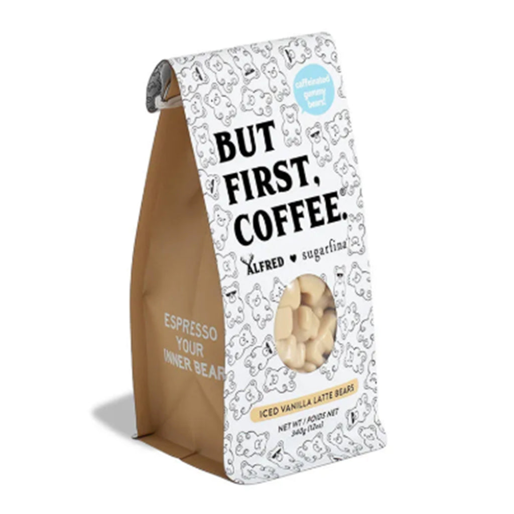 sugarfina but first coffee iced vanilla latte bears bag