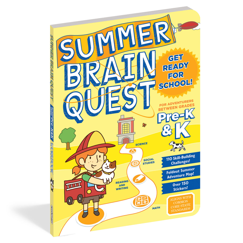 summer brainquest pre-k and k
