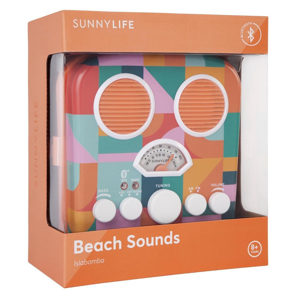 beach sounds radio and speaker