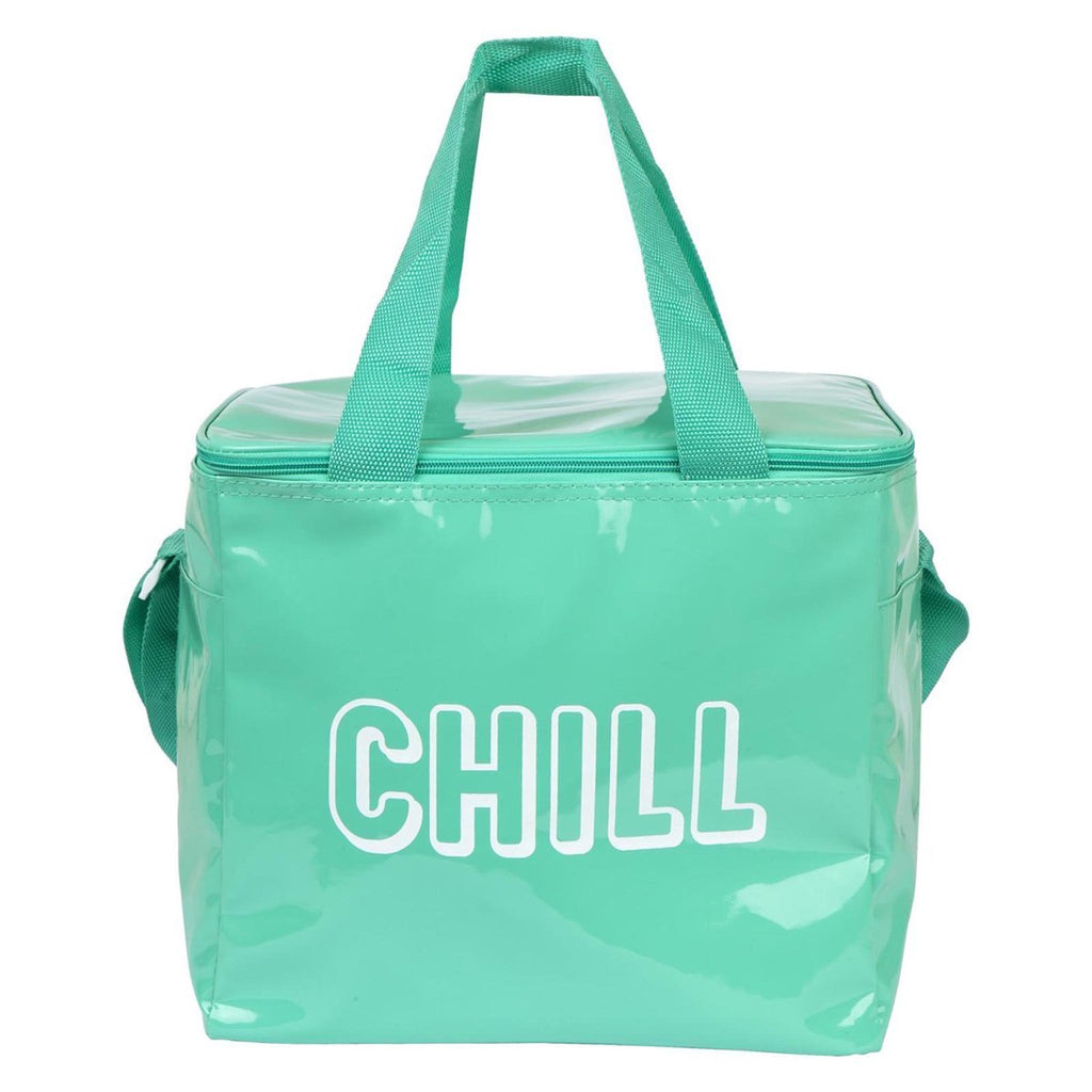 chill turquoise large cooler insulated bag