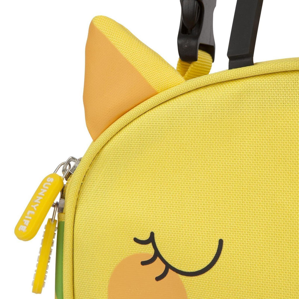 kids giraffe lunch bag
