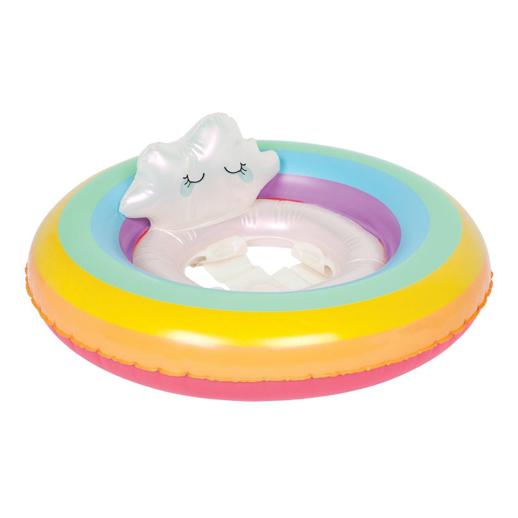 rainbow baby float ring