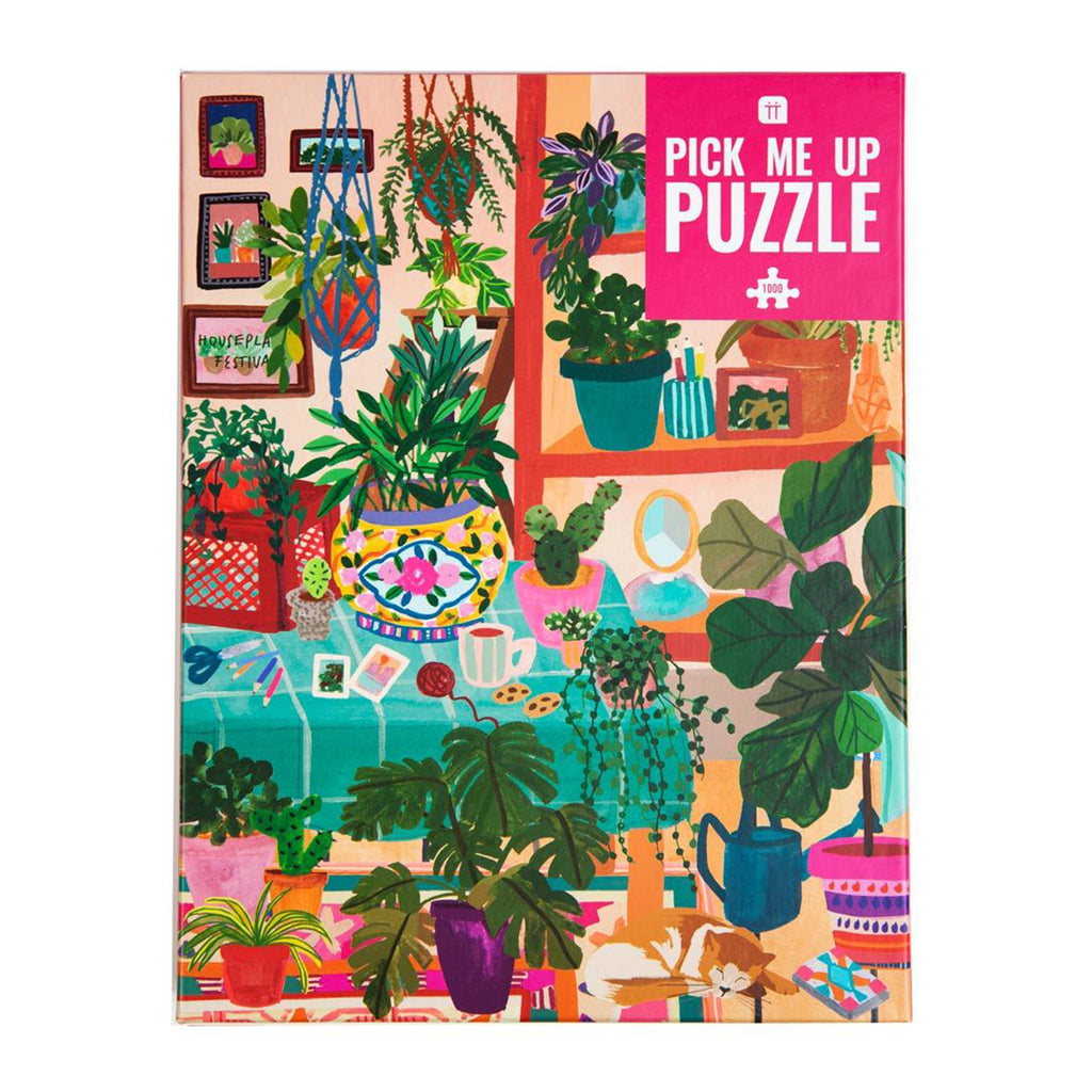 talking tables houseplants 1000 piece jigsaw puzzle
