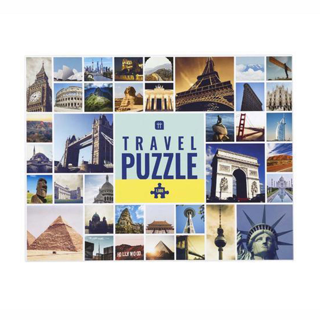 talking tables 1000 piece worldly wise landmark jigsaw puzzle box front