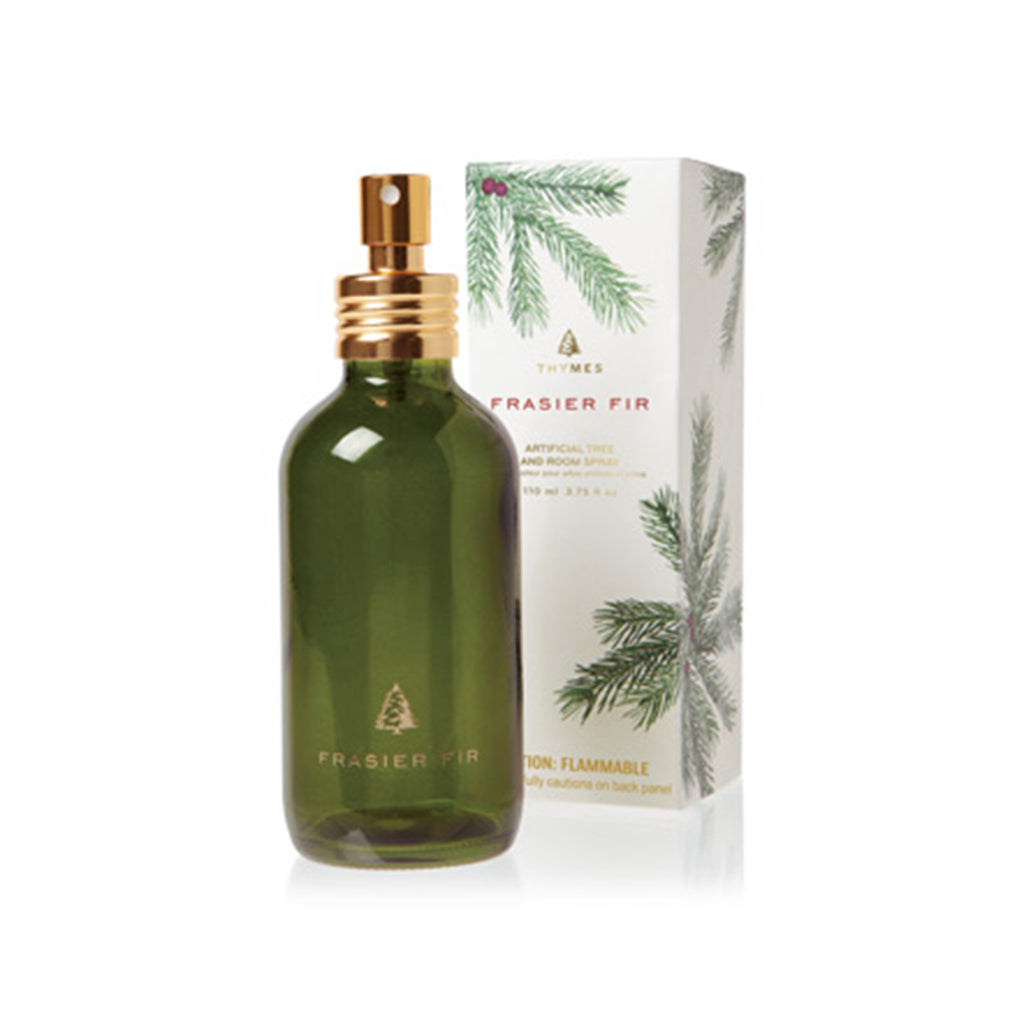 thymes frasier fir scented novelty artificial christmas tree and room spray holiday best selling home fragrance