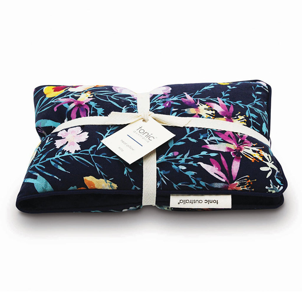 scented floral heat pillow