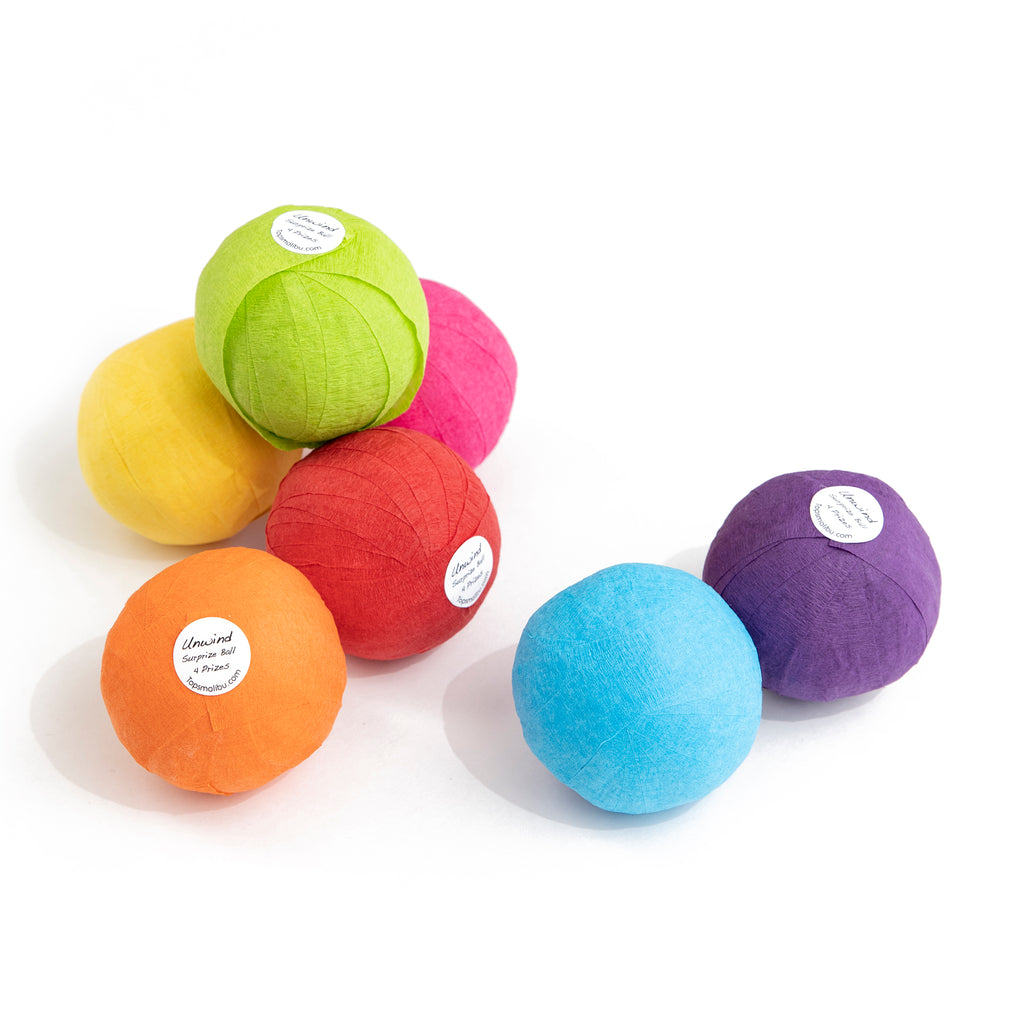mini fortune surprise ball colors