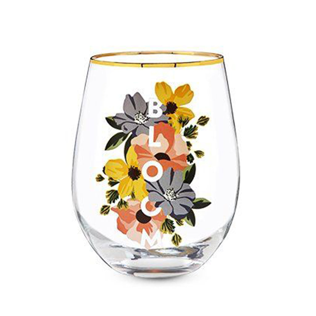 bloom stemless glass