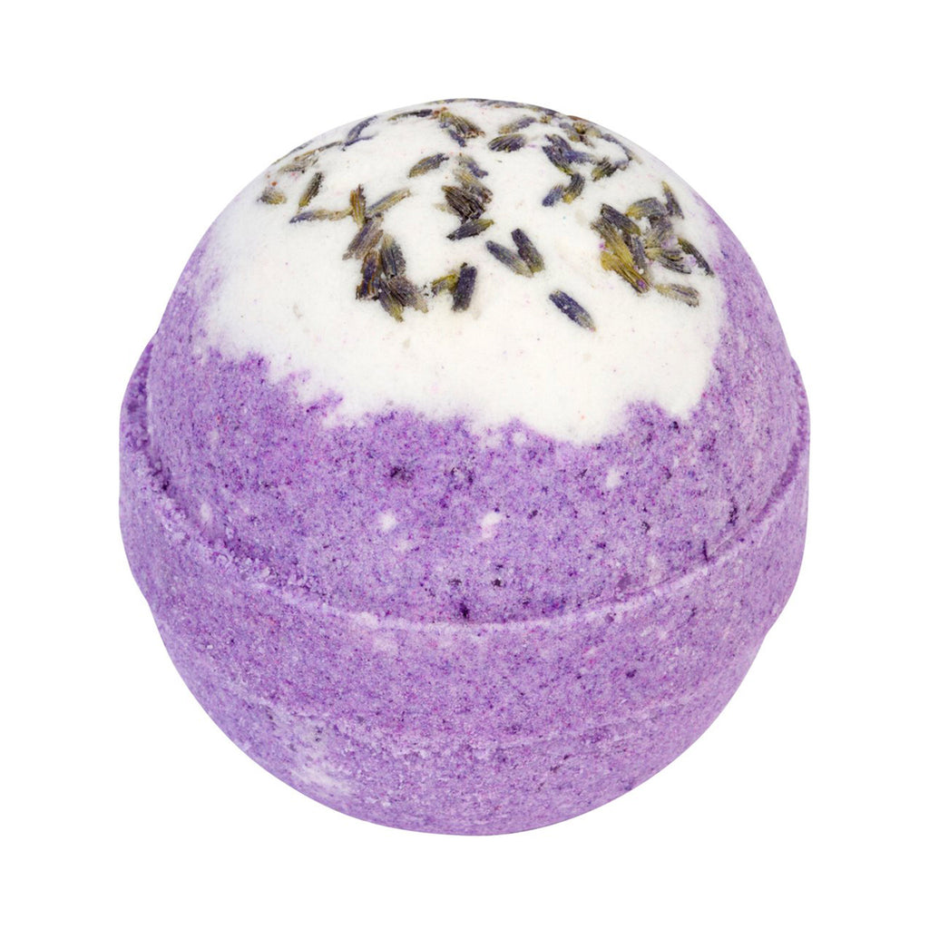 two sisters spa relaxing lavender scented purple bubble bath bomb fizzer