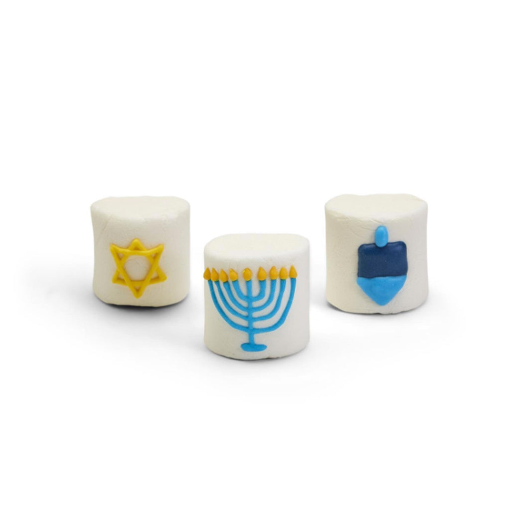 two's company hanukkah themed marshmallows 3 designs