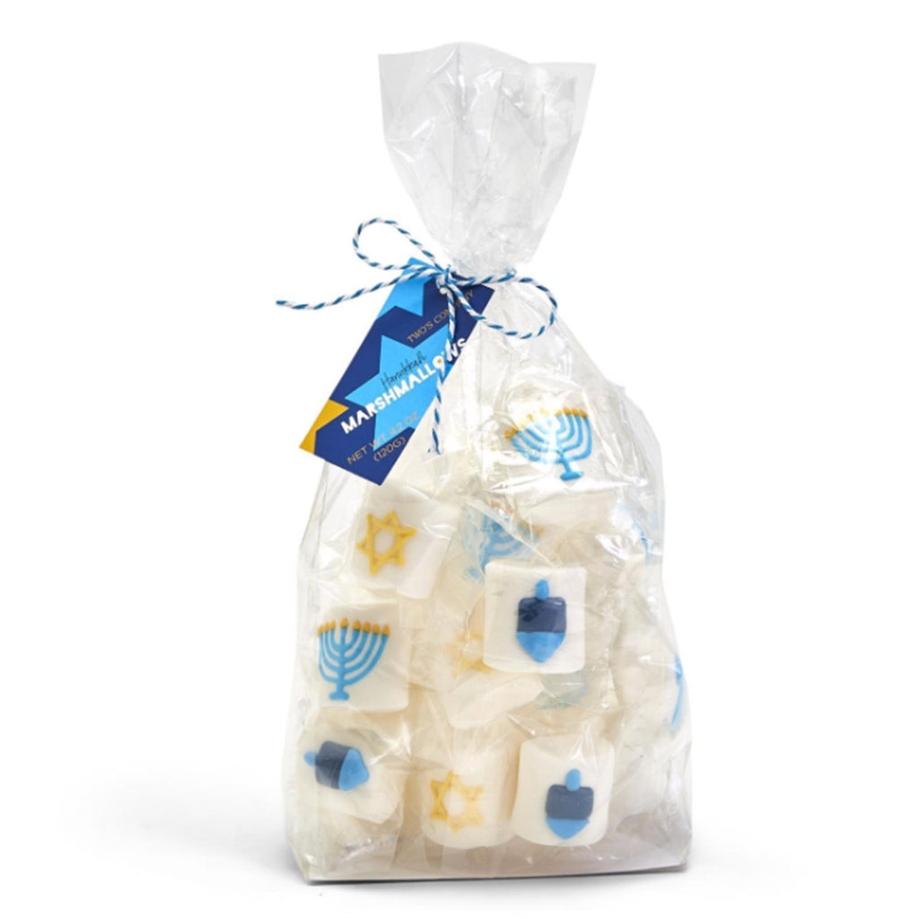 two's company hanukkah themed marshmallows in packaging