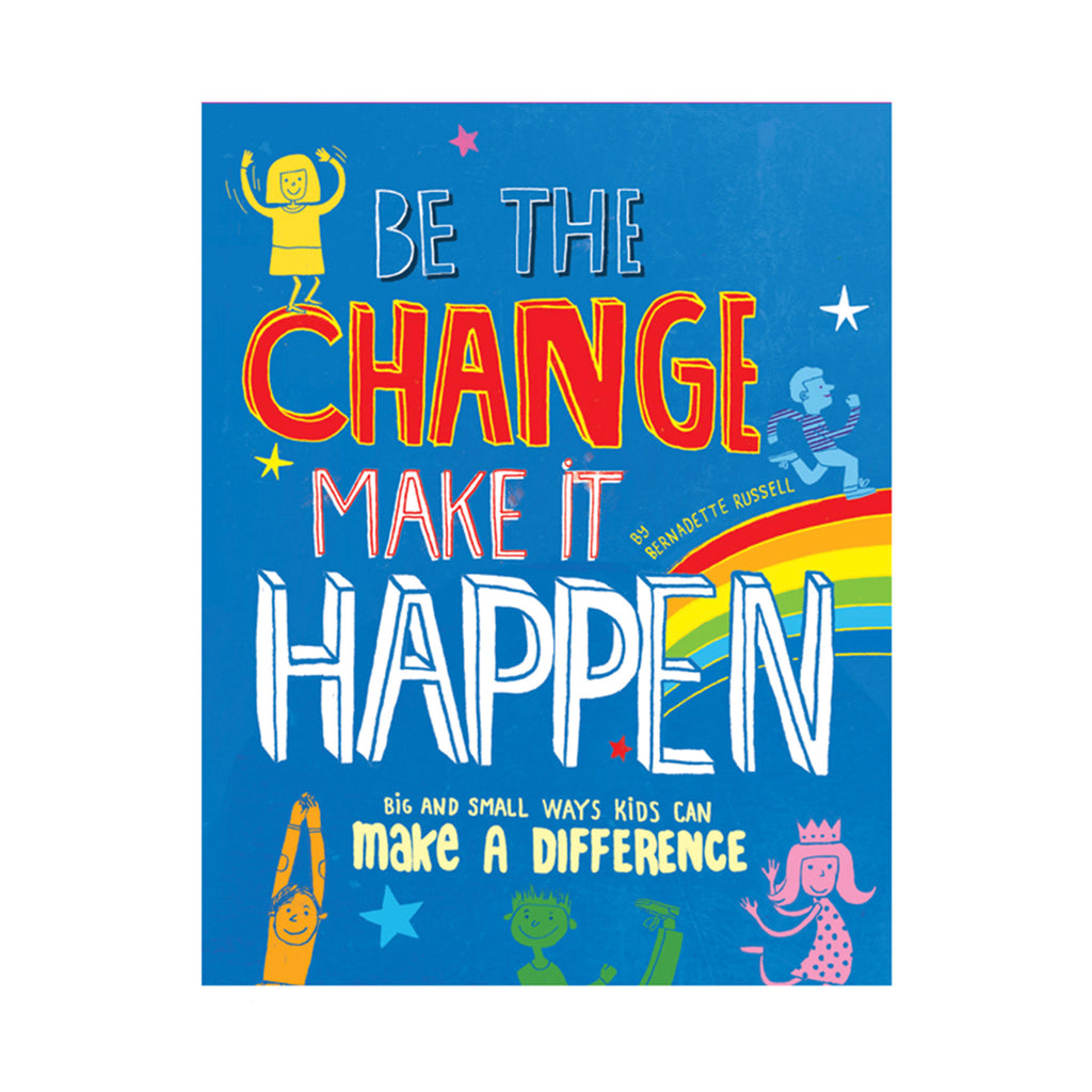 usborne be the change make it happen book cover