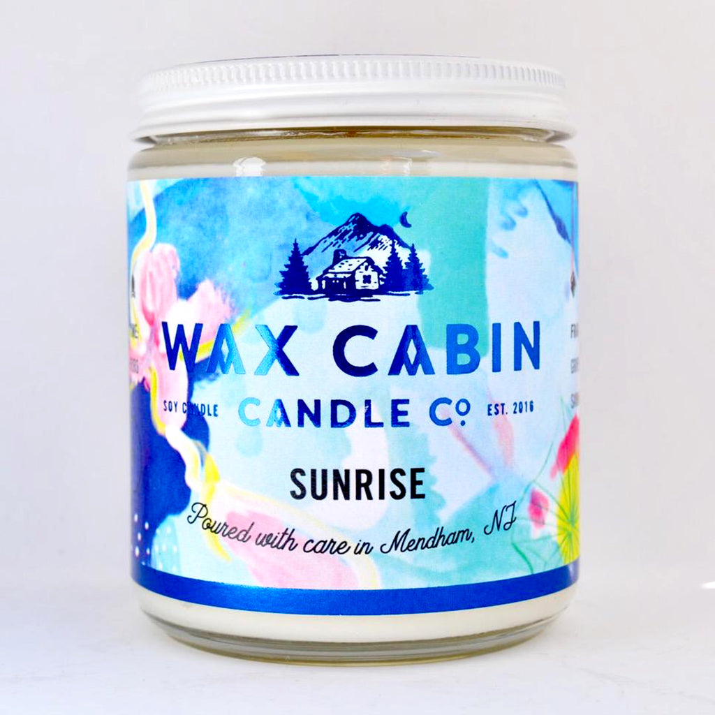 Wax Cabin Sunrise Candle