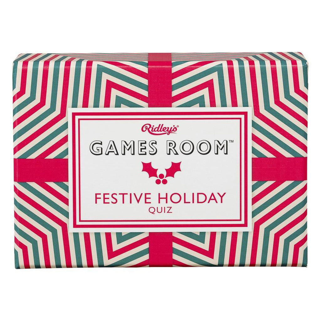 ridleys festive holiday quiz trivia game box