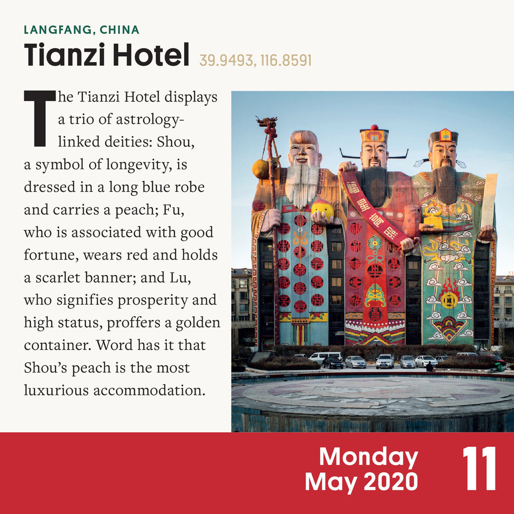 workman 2020 atlas obscura page a day desk calendar tianzi hotel page