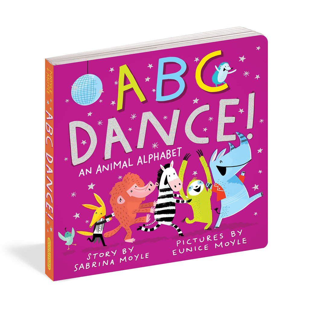 workman abc dance an animal alphabet story board book cover