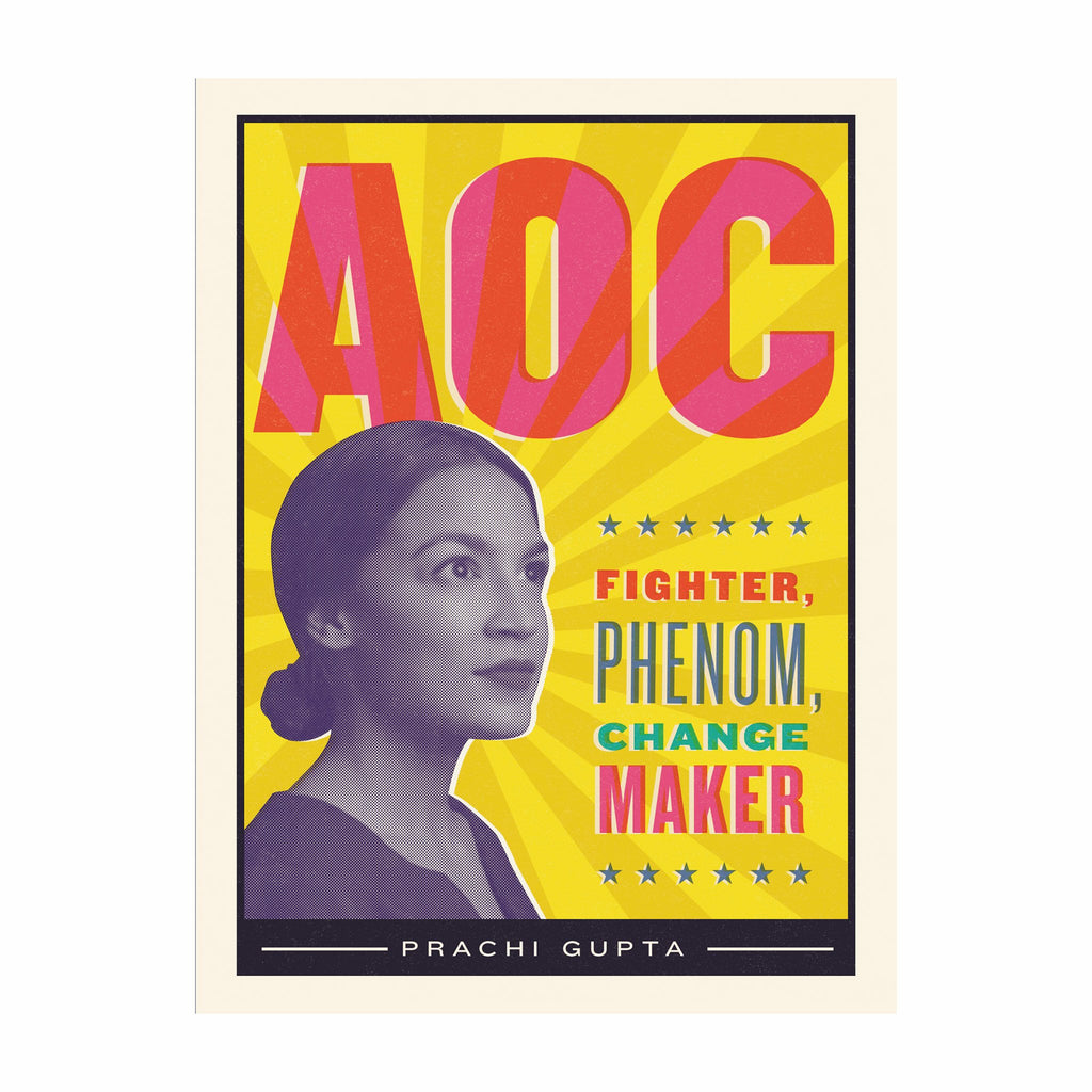 workman aoc alexandria ocasio cortez fighter phenom change maker book cover