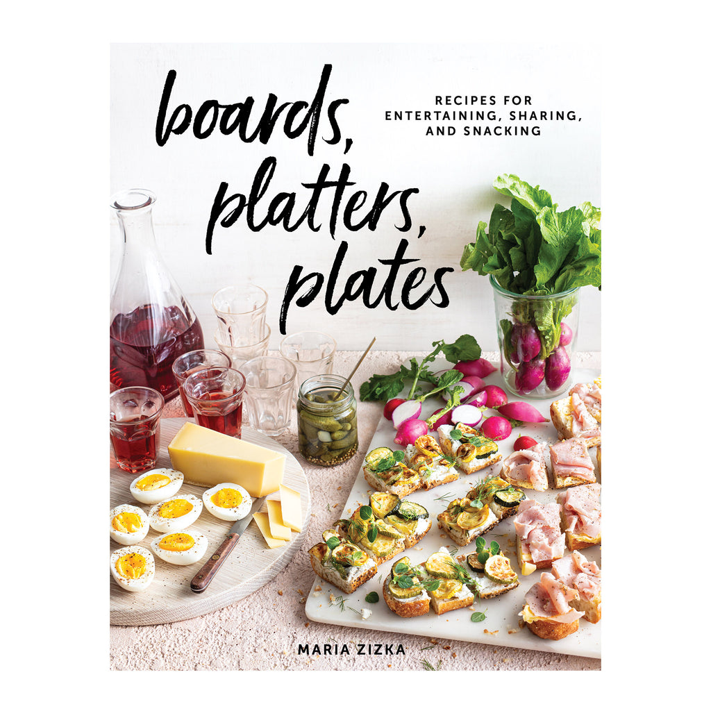 workman boards, platters, plates recipes for entertaining, sharing and snacking cookbook cover