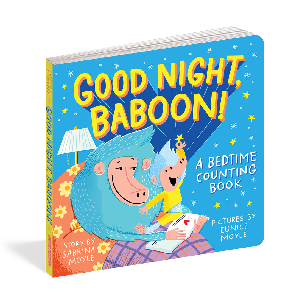 workman good night baboon a bedtime counting story board book cover