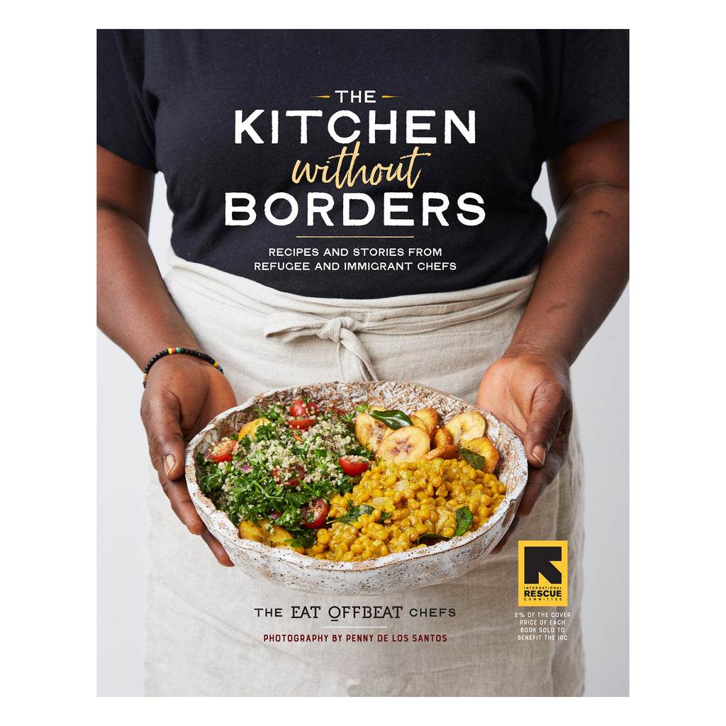 workman the kitchen without borders with recipes and stories from refugee and immigrant chefs cookbook cover