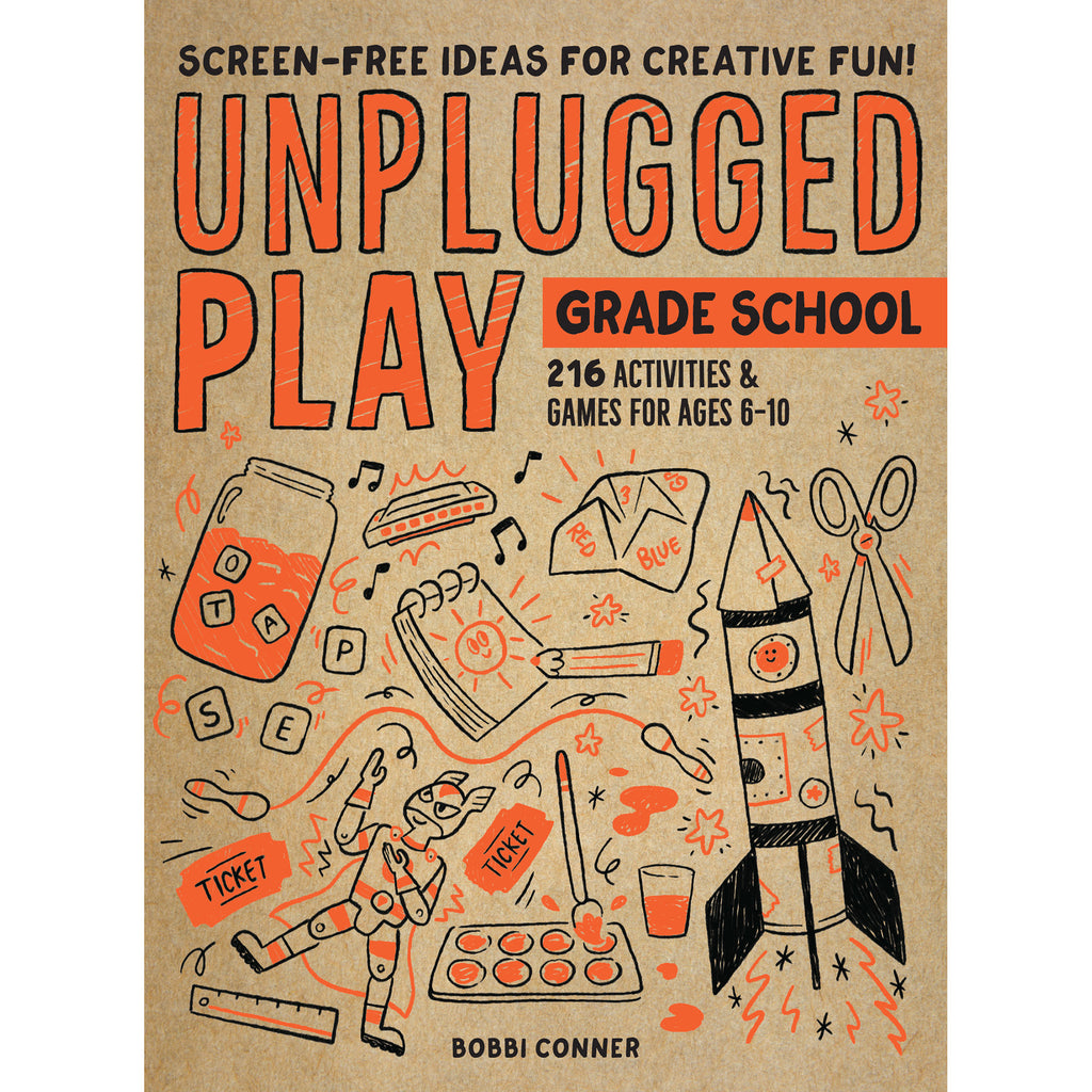 workman unplugged play grade school interactive games and activities book for kids cover