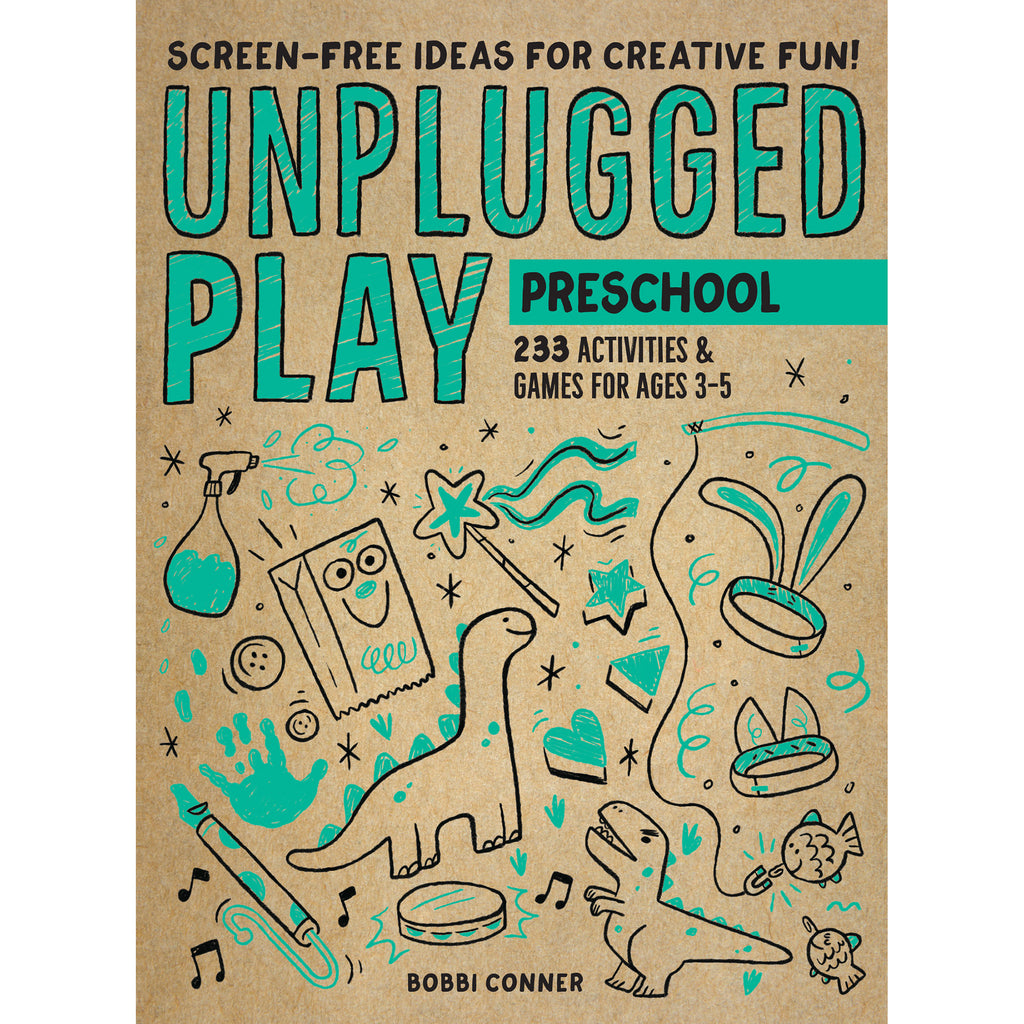 workman unplugged play preschool interactive games and activities book for kids cover