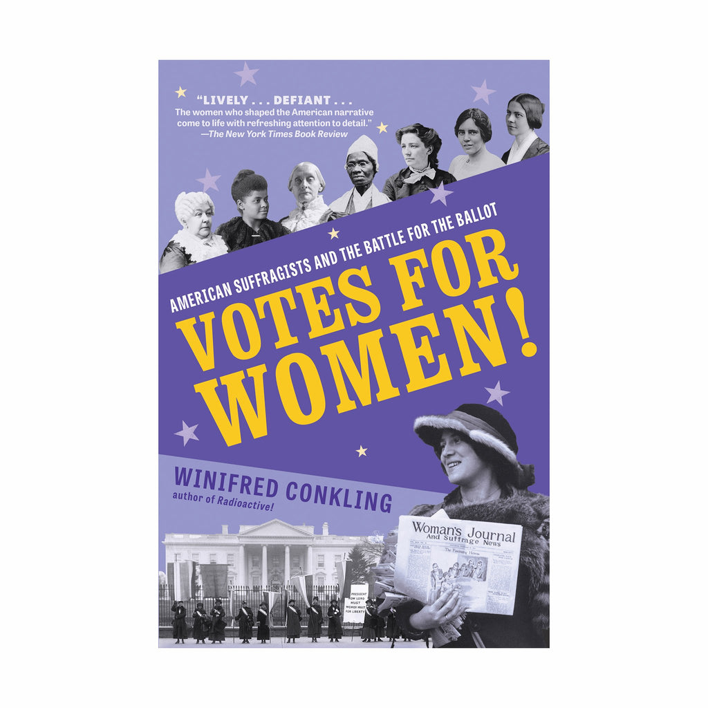 workman votes for women american suffragists and the battle for the ballot book cover
