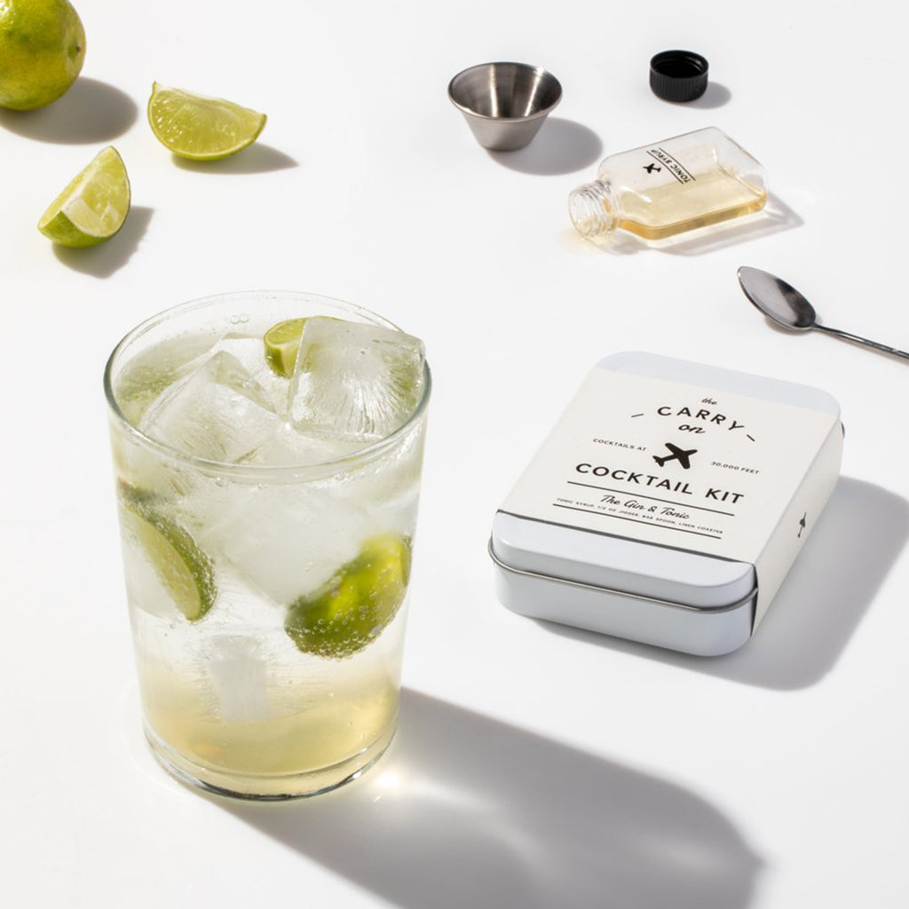 gin & tonic cocktail kit drink