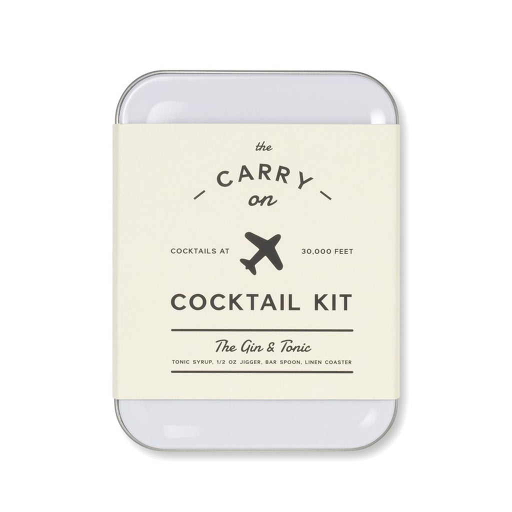 gin & tonic cocktail kit front