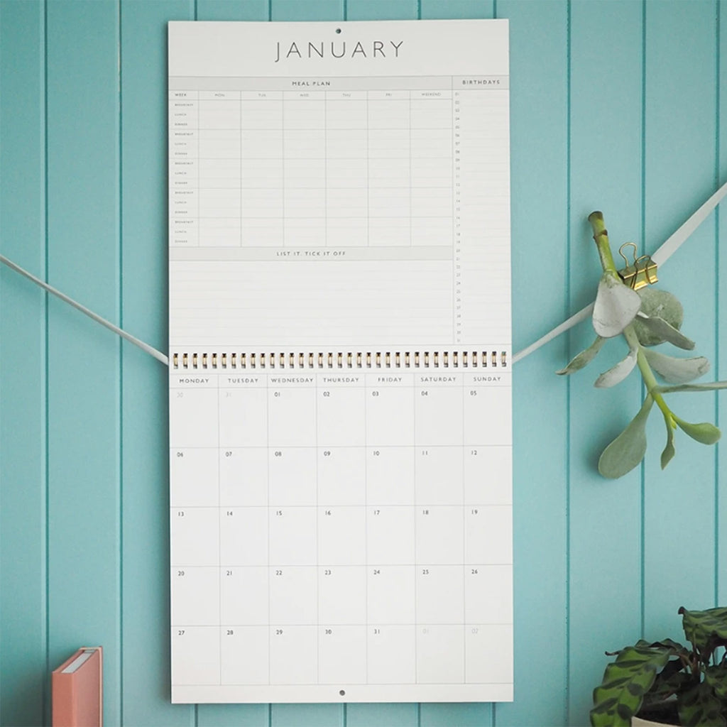write to me 2020 my organized chaos gray linen write on monthly wall calendar january month