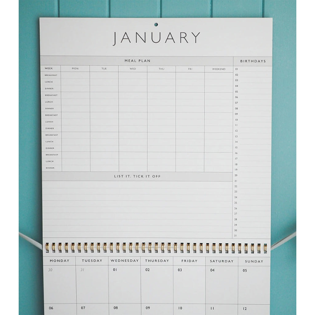 write to me 2020 my organized chaos gray linen write on monthly wall calendar january top page