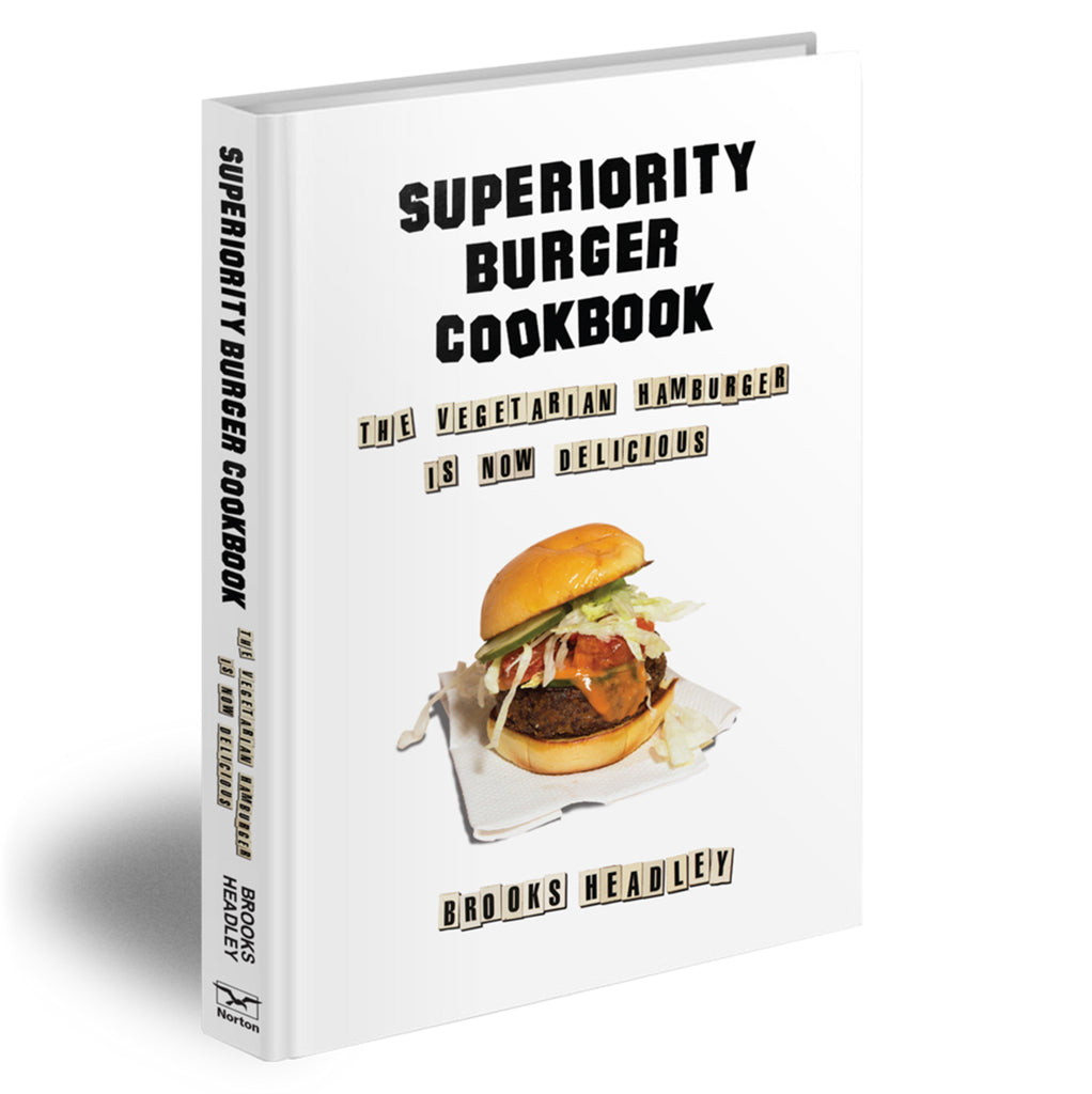 superiority burger cookbook cover